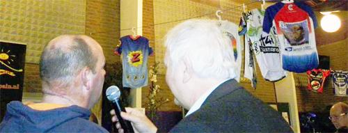 Ton Merckx bij Betuws Wielercafé 2013
